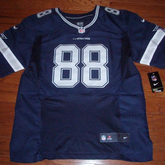 Cowboys Dez Bryant NFL Blue Jersey - Size 44